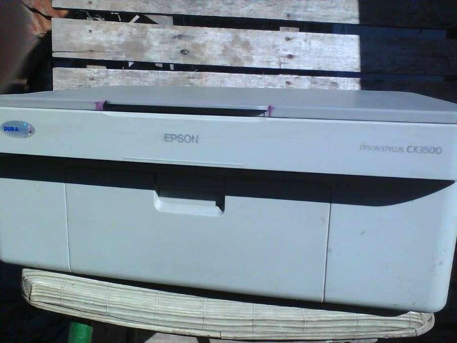 VENDO IMPRESORA EPSON CX 3500