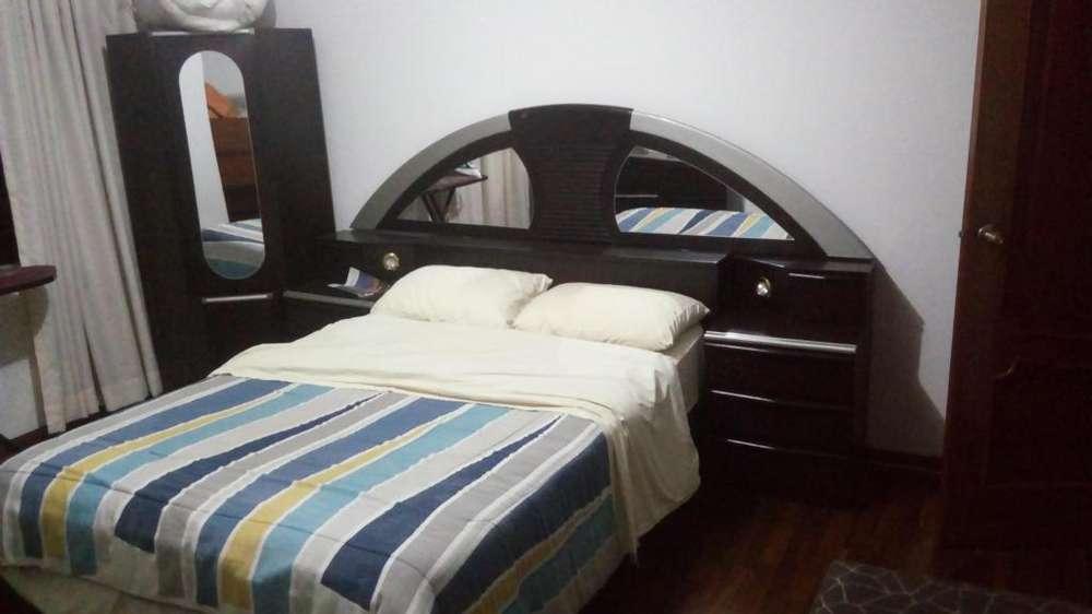 Juego de dormitorio completo de 2 plazas