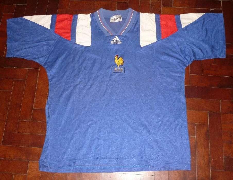 Hermosa Camiseta adidas Equipment Seleccion De Francia 1992 talle L
