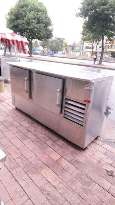 Barra Mesón de Refrigeración en Acero