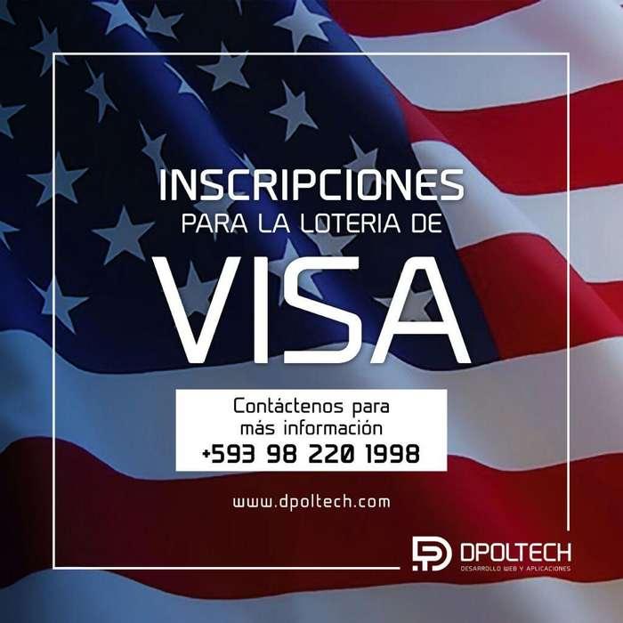Registro en Lotería de Visa Americana Us