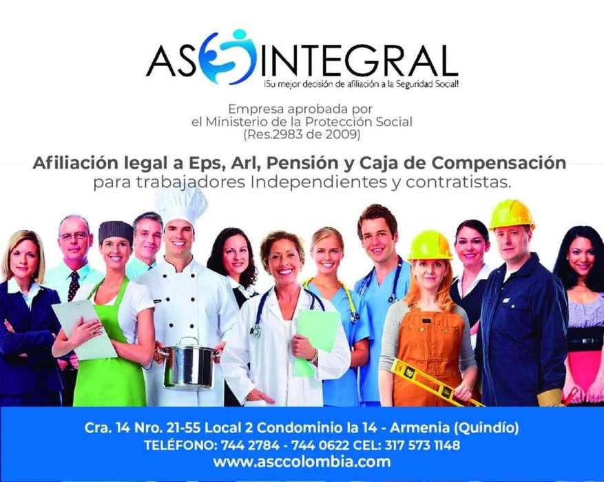 EPS ARL PENSION CAJA DE COMPENSACION