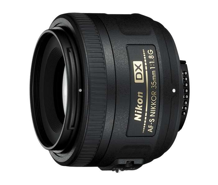 Lente Nikon 35mm F/1.8g Afs Dx Para Cámaras Nikon