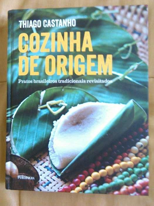 Libro Cozinha de Origem. Thiago Castanho