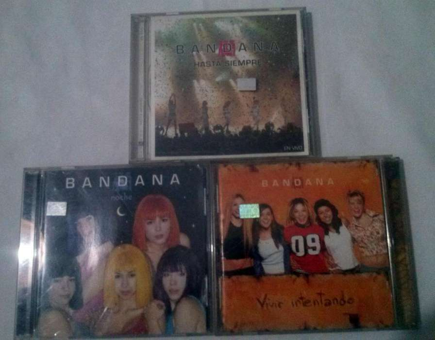 3 CDs DE BANDANA
