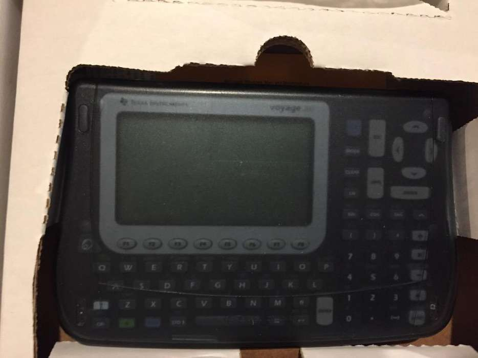 Graficadora Texas Instruments Voyage 200