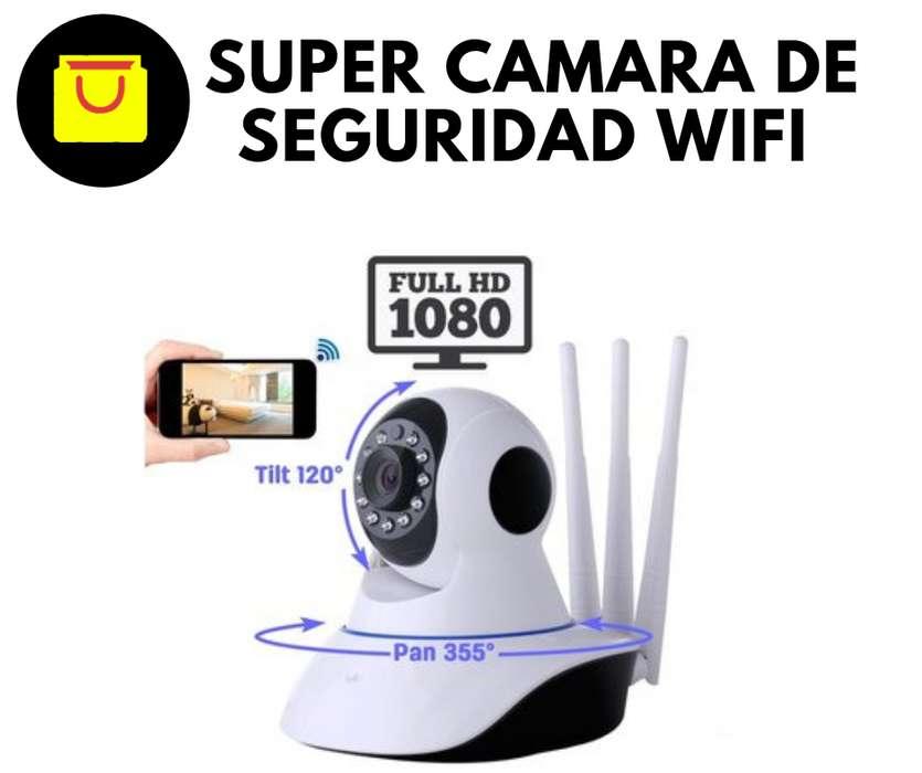 cámaras de seguridad wifi roboticas sin cable.