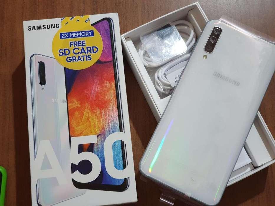 Samsung A50 Blanco Nuevo