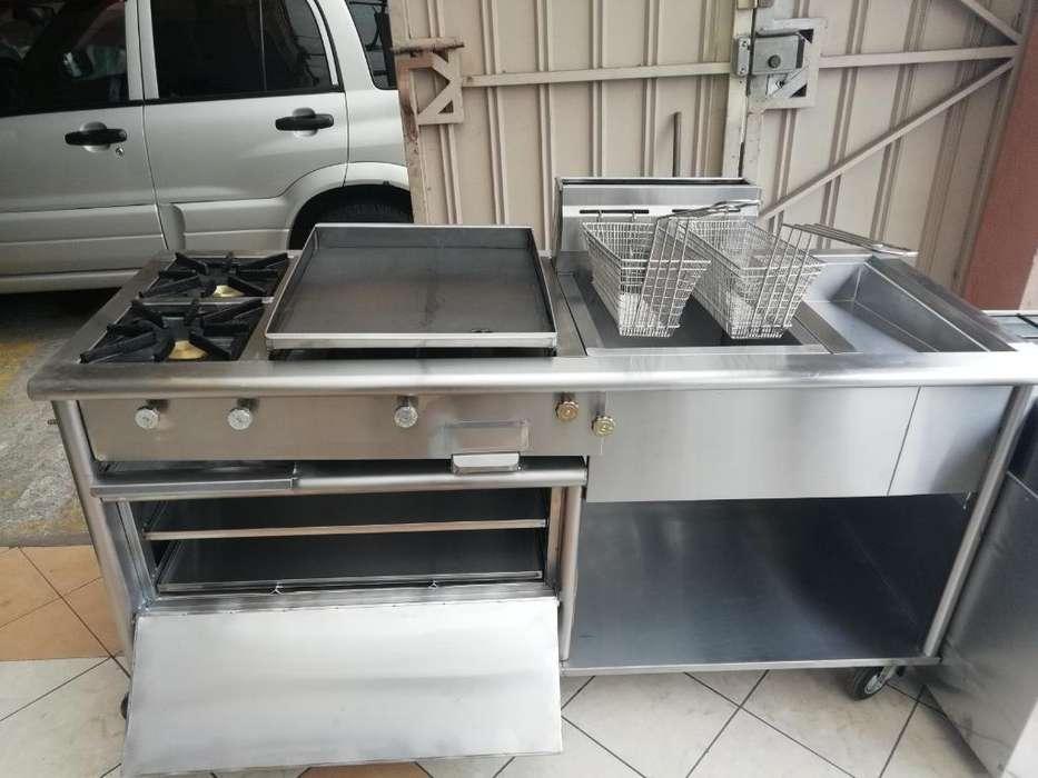 Cocina Industrial 4 Servicios en Acerp