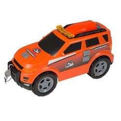 Camioneta Todoterreno 4x4 A Friccion Luz Y Sonido Teamsterz