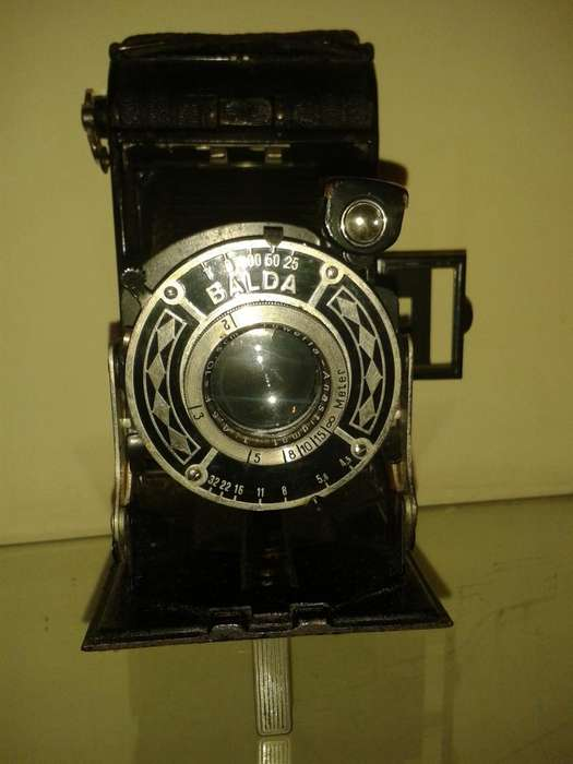 camara de foto antigua marca balda
