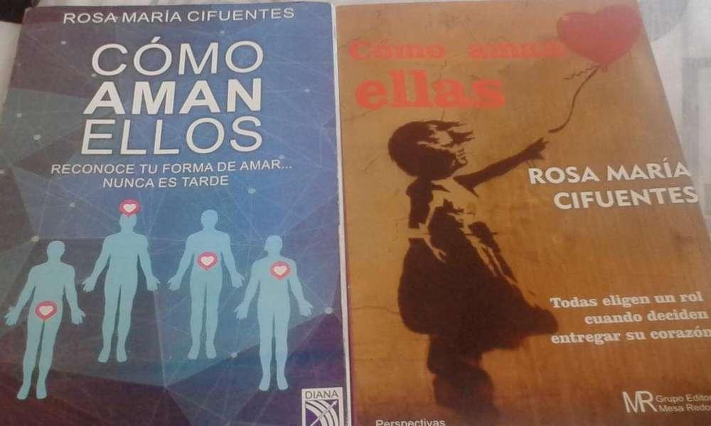 2 Libros Cómo Aman Ell@s