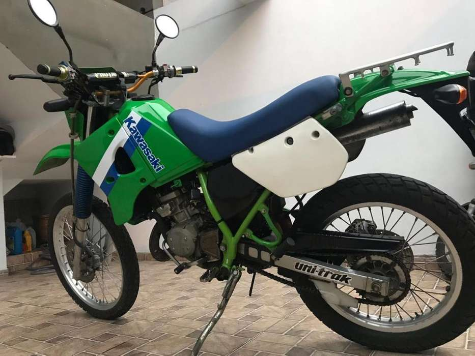 Kawasaki kmx 125 2tiempos. No honda, yamaha, ktm, suzuki