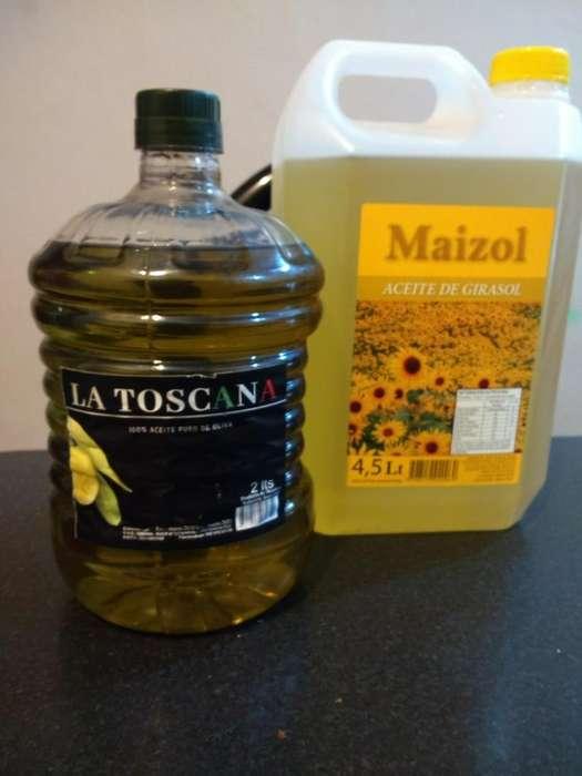 Aceite de Girasol Y Oliva