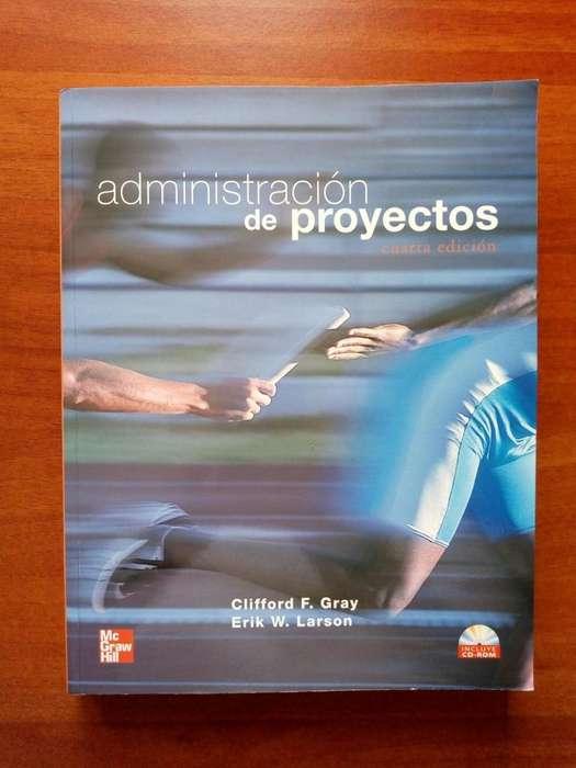 Libro Administración de Proyectos Mas CD, Editorial Mc Graw Hill, Sin Marcas Excelente Estado