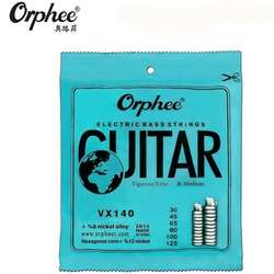 Encordado Orphee VX120 Niquel Para Bajo 4 Cuerdas .040100