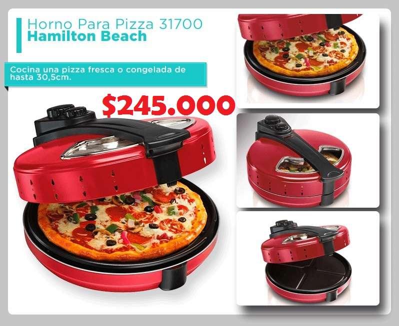 Horno para Preparar Pizzas Hamilton Beach