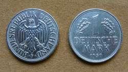 Moneda de 1 marco Alemania Federal año 1950