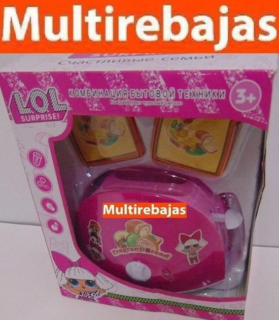 Y Lol Mini Quito Tostadora Sonido Nwo80pkx Luz Con Juguetes De Cocina J5l3TFK1uc