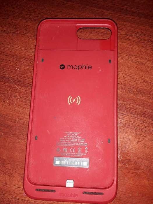 Funda-cargador de iPhone 7 Plus