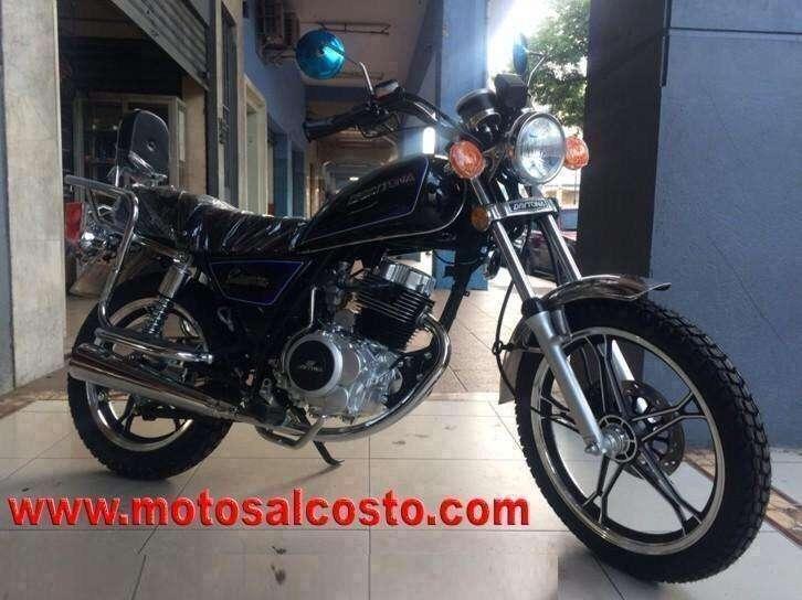 Moto Crucero 150Cc Imitacion Suzuki Gn Clasica con Detector de Llamadas Celular Y Acabado Niquelado Whatsapp 0999614350