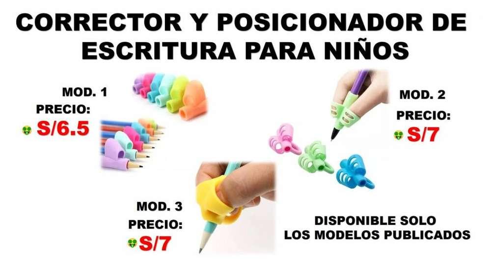 CORRECTOR Y POSICIONADOR DE ESCRITURA PARA NIÑOS/SOMOS TIENDA MASTER TEC 1.0