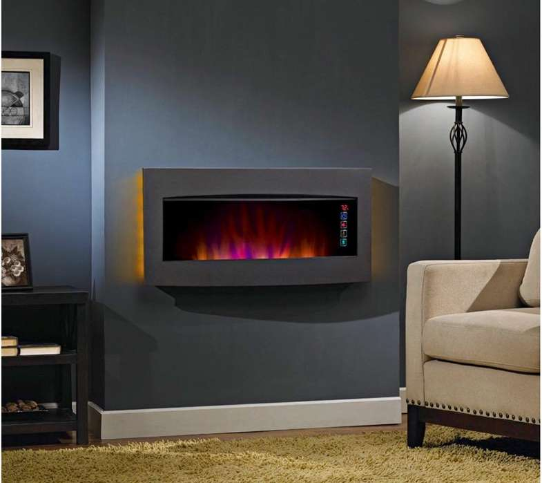 Chimenea Digital Infrarroja de Pared O Mesa Classic flame serendipity infrared wall hanging Fire place heater