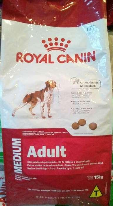 Alimento Bal. Royal Canin Medium 15kg.
