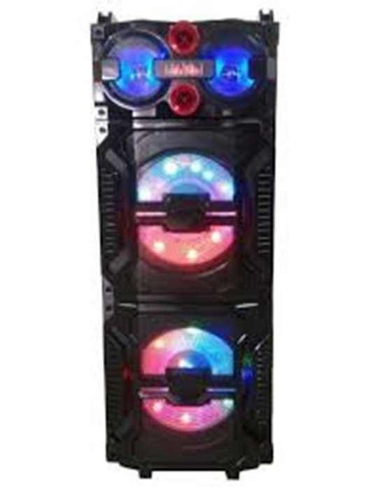 Parlante Portatil Torre Dinax Glam Bluetooth Micro Sd Usb