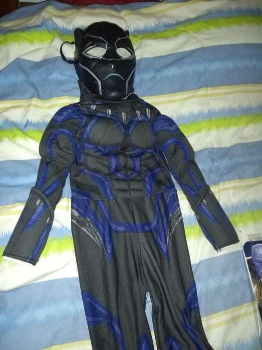Disfraz Pantera Negra Niño de 6 Años