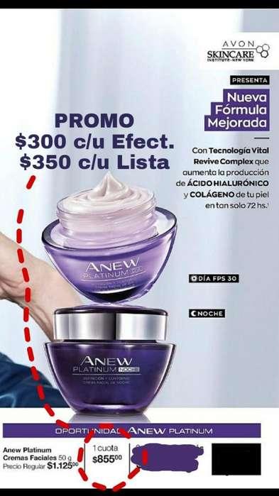 Promo Anew Platinum antiarrugas