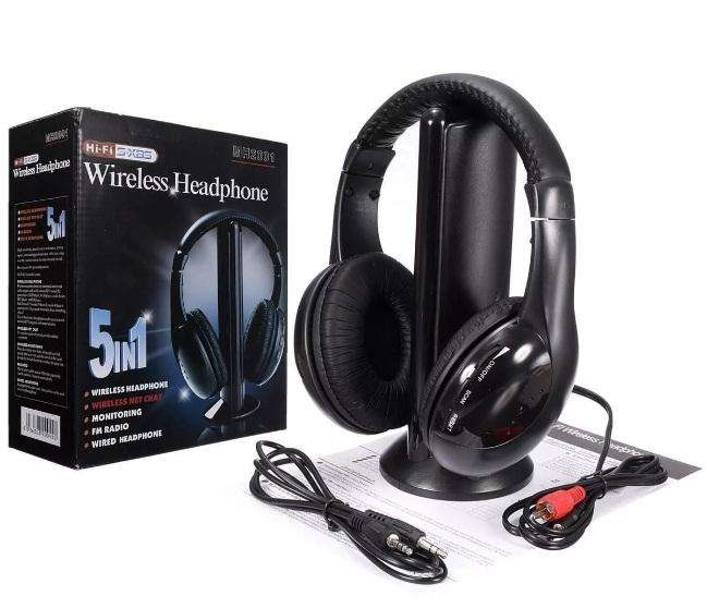 AURICULARES TV WIRELESS MH2001- DIA DEL PADRE