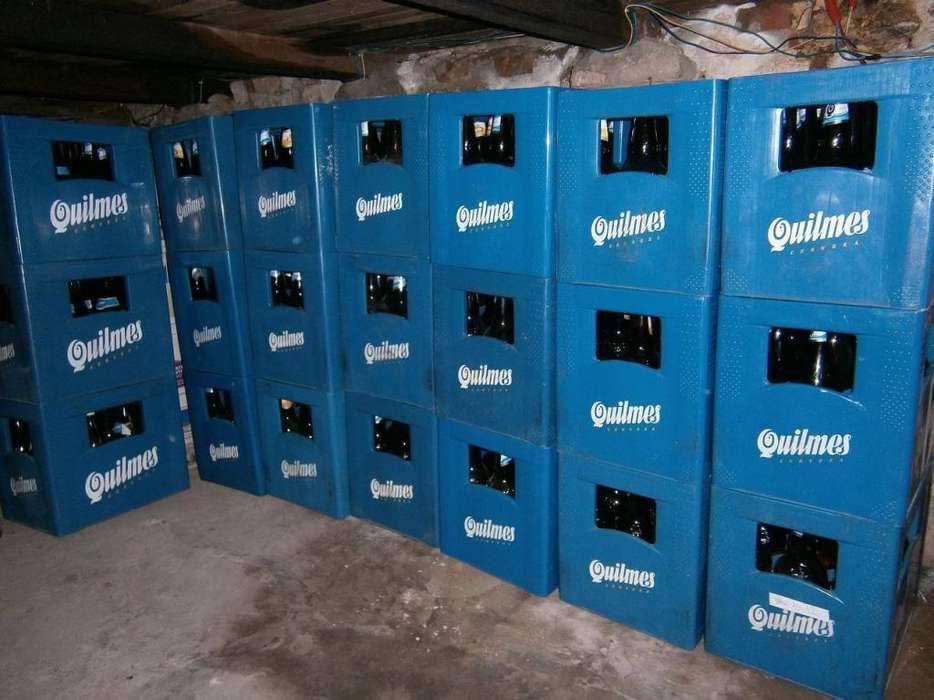 envases de quilmes 1 litro 17 c/u