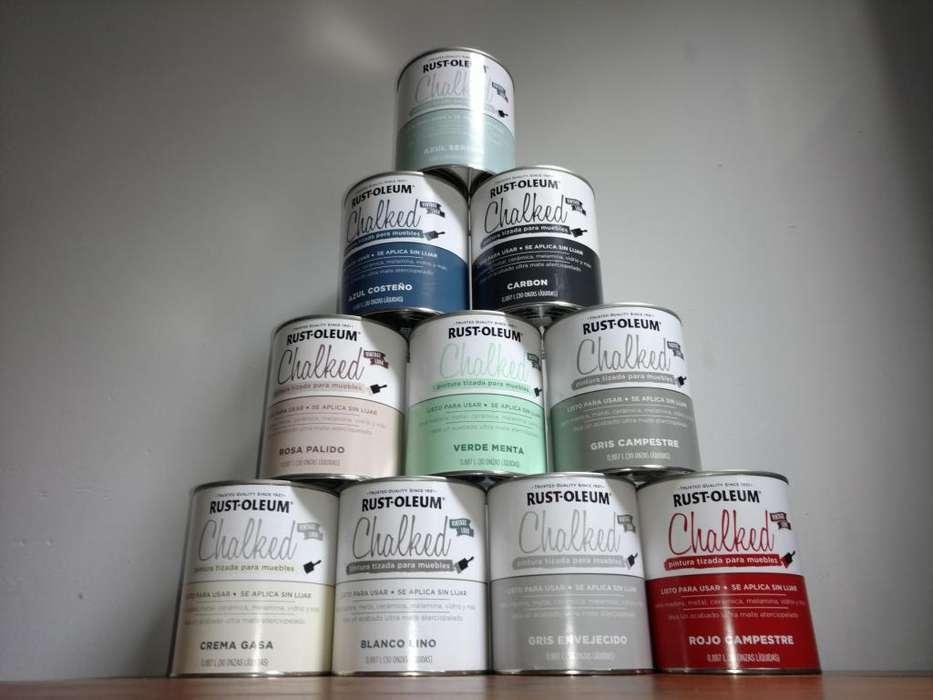 Pintura a la tiza Chalked Paint