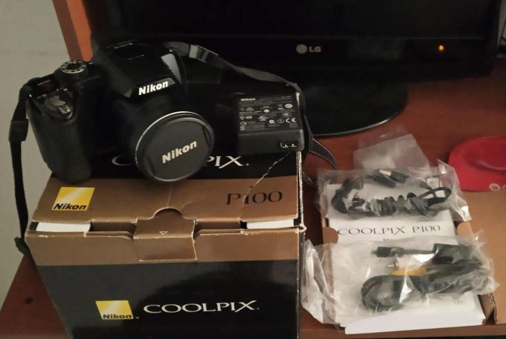 Nikon Coolpix P100 10mp 26x (usada)