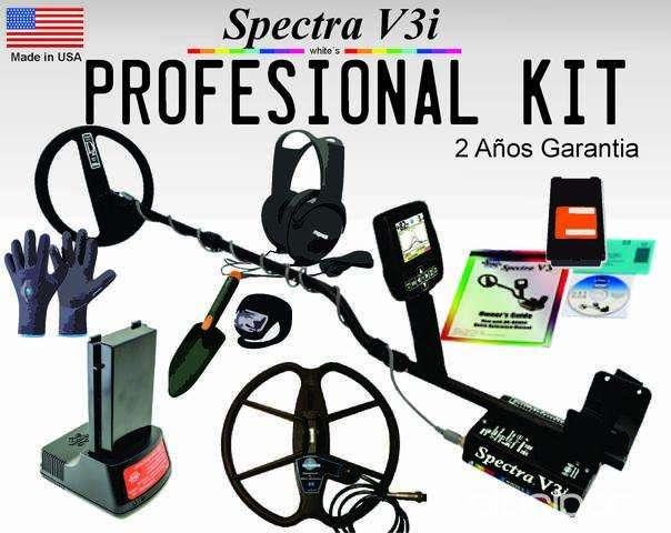 Detectores Metales Spectra V3I