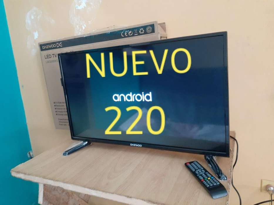 Smart Tv 32 Daewoo Original Nuevo Poco U