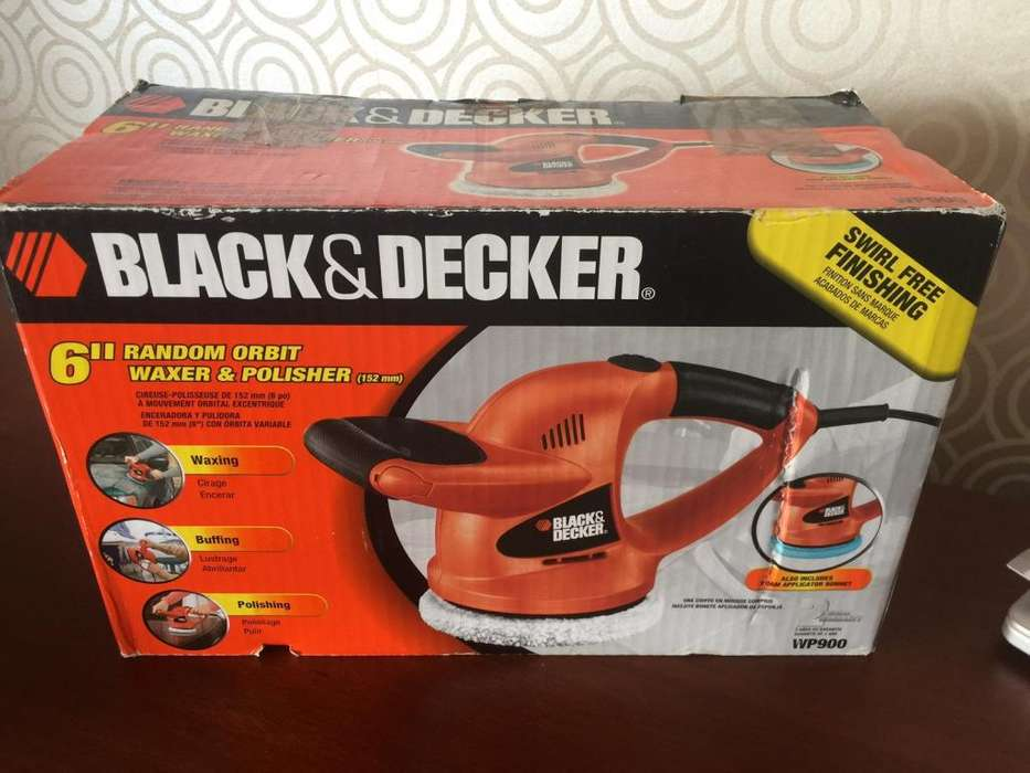 Pulidora De Carros Black Decker Wp 900