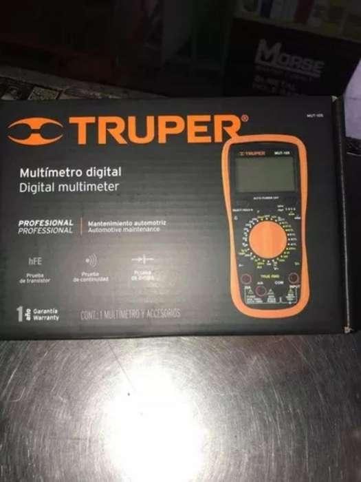 Multimetro Truper Mut-105 Nuevo
