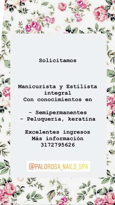<strong>empleo</strong> Manicurista