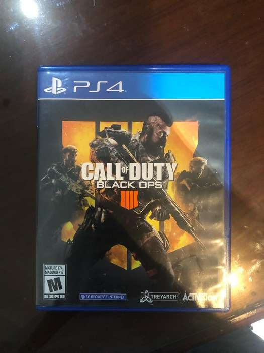 Juego Call Of Duty Black Ops 4 para Ps4