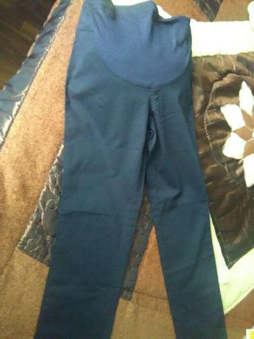 Pantalon Drill Stretch de Embaraza talla 28 NUEVO