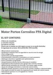 AUTOMATIZACIONES DE PORTONES. ACCESORIOS. BUENOS PRECIOS!!