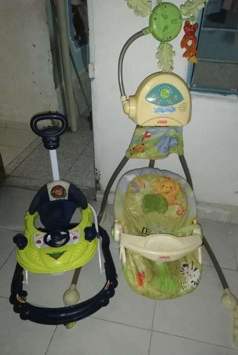 Columpio Y Caminador para Bebé