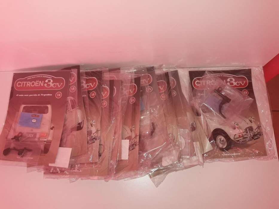 Vendo Fasculos Citroen 3CV