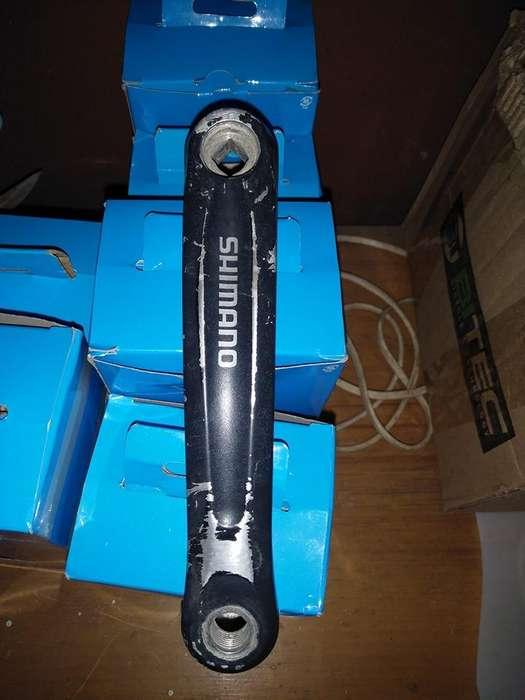 Palanca shimano izquierda de repuesto 175mm de largo