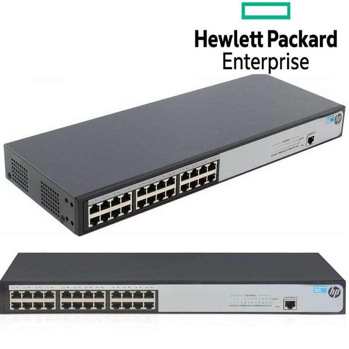 Switch Administrable HP Gigabit Ethernet 1620-24G, 24 Puertos 10/100/1000Mbps, 48 Gbit/S