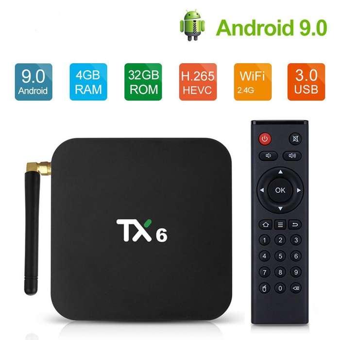 Tv Box Tx6 Android 9 4gb Ram 32gb Rom