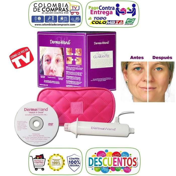 Derma Wand TV Equipo de Rejuvenecimiento Facial, Incluye DVD y Bolso De Lujo, Nuevos, Originales, Garantizados..