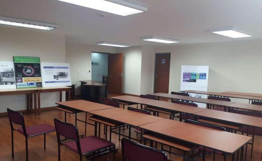 La Paz, oficina amoblada en renta, 3 ambientes, 86 m2
